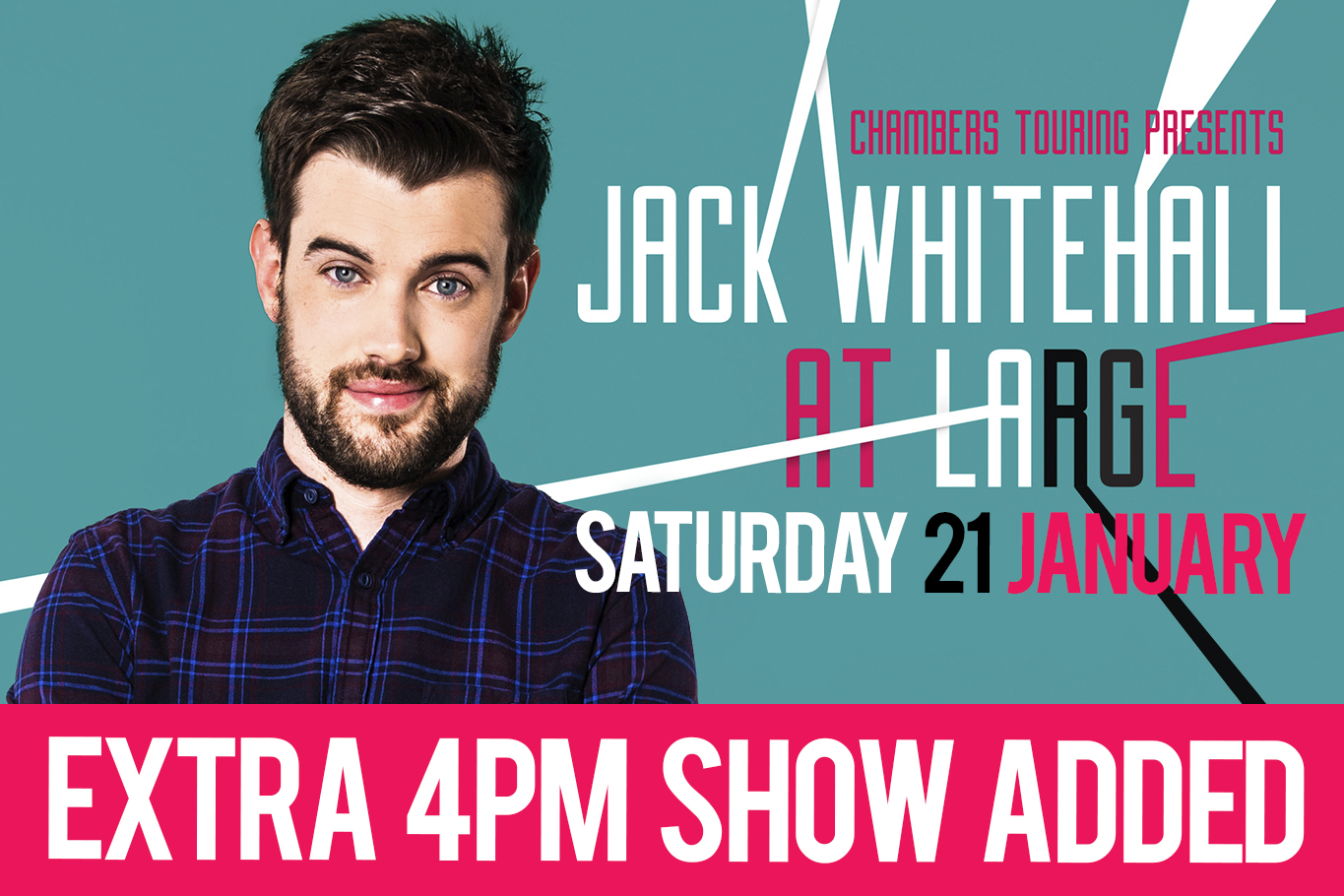 Jack Whitehall Plymouth Pavilions